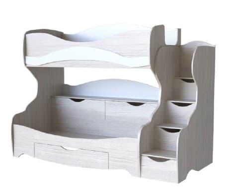 Кровать двухъярусная Карамель КА-03