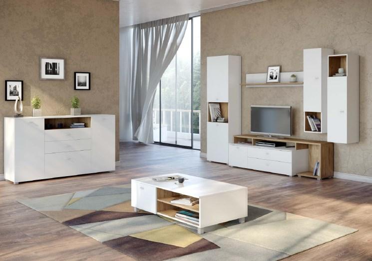 Мебельная стенка Капри (комплект 1)