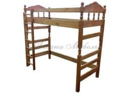 Детская кровать-чердак Рикардо из массива