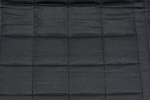 Стальная труба Металл / Экокожа Черный