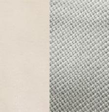 Берёзовая фанера, покрыта эмалью Дуб шампань / Ткань Велюр Verona Light Grey