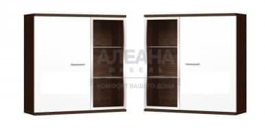 Шкаф настенный со стеклом Домино (ДМ-36, 37)