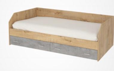 Кровать с ящиками Ассоль АС-80