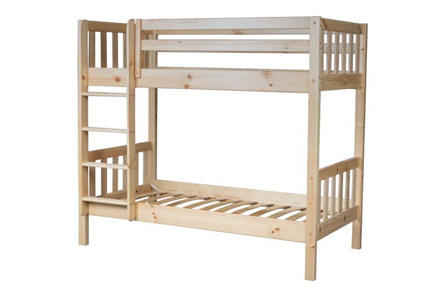 Детская двухъярусная кровать Ладушка Эко