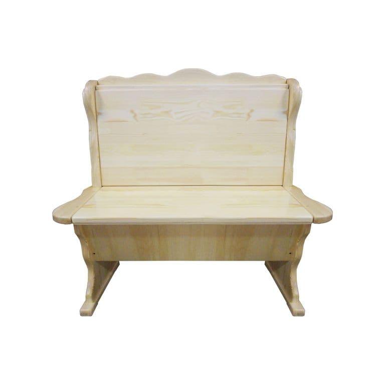 Шерлок прямой диван без обивки