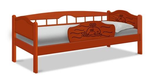 Детская кровать из массива Китенок