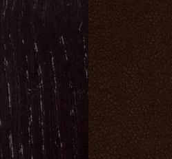 Берёзовая фанера, покрыта эмалью Венге / Экокожа Oregon perlamutr 120