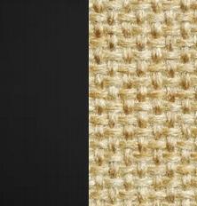 Берёзовая фанера, покрыта эмалью Венге / Ткань Рогожка Malta 03 А
