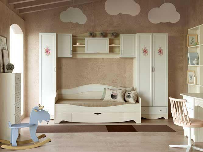 Детская комната Карамель (комплект 4)
