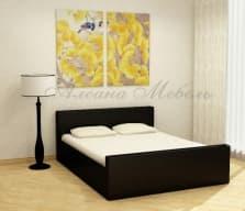 Кровать с мягким изголовьем Белла