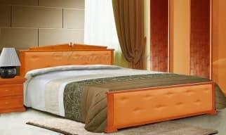 Кровать Авизия с кожей