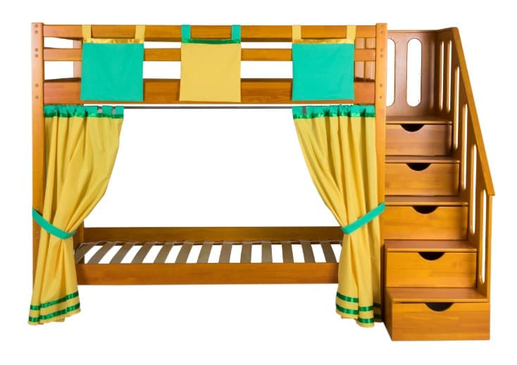Детская 2-х ярусная кровать Альпинист