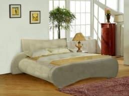 Кровать с мягким изголовьем Мадонна