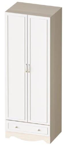 Шкаф двухстворчатый с одним ящиком Карамель КА-05