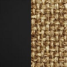 Берёзовая фанера, покрыта эмалью Венге / Ткань Рогожка Malta 17