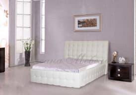Кровать с мягким изголовьем Лаура
