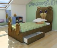 Кровать детская Медвежонок