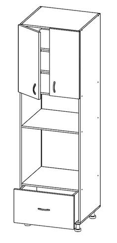 Шкаф под духовку и микроволновку Т-3092