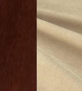 Берёзовая фанера Орех / Ткань Велюр Ophelia 1