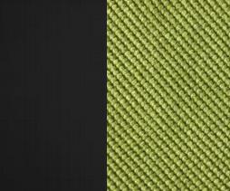 Берёзовая фанера, покрыта эмалью Венге / Ткань Велюр Verona Apple Green