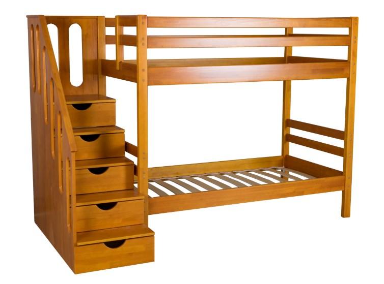 Детская двухъярусная кровать Журавушка