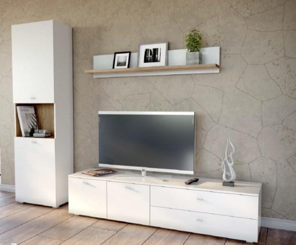 Мебельная стенка Капри (комплект 7)