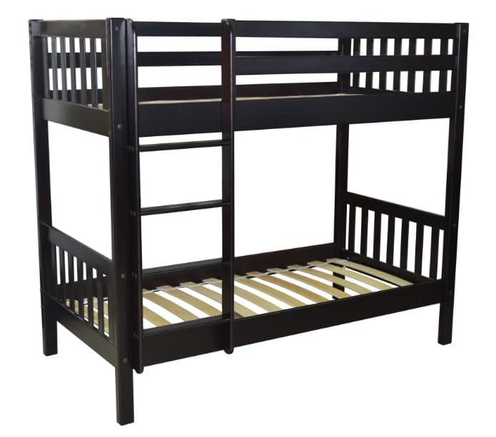 Детская двухъярусная кровать Ладушка