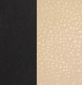 Берёзовая фанера, покрыта эмалью Венге / Экокожа Polaris Beige