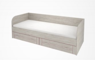Кровать с ящиками Радуга РА-80, 81