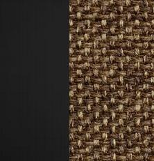 Берёзовая фанера, покрыта эмалью Венге / Ткань Рогожка Malta 15 А